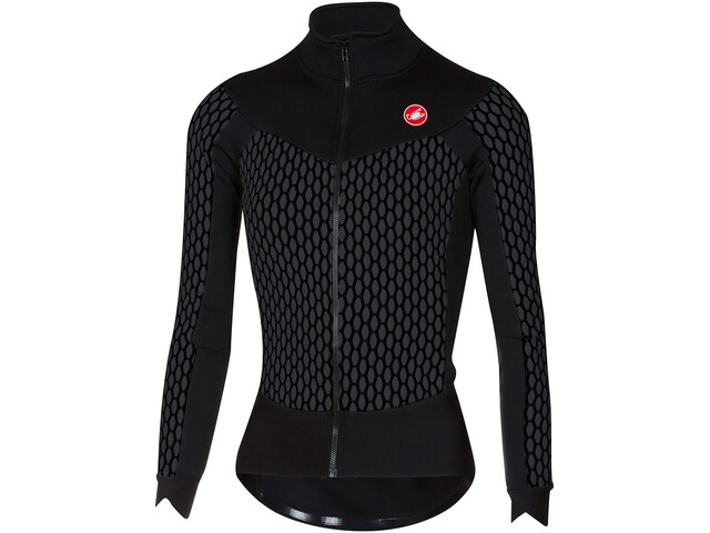Castelli Sfida Full-Zip Jersey Damen anthracite/black